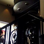 16869644 - 店内階段から2階カフェ入り口を見上げたところ