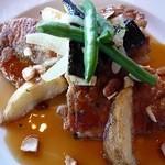 ベーカリーレストラン サンマルク - チキンランチ(チキンのグリル 焼き野菜とピーナッツの甘酢ソース)