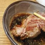札幌成吉思汗 しろくま  - アイスランド産ラムをタレで食べる