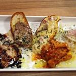 肉バルstaub - 前菜5種盛り