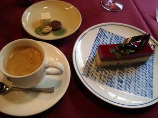 AO - 季節の栗を使ったケーキ&コーヒー