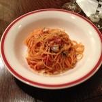 タンティ - その2:トマトとニンニクのスパゲッティ
