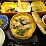 夢庵 - 2013年1月再訪 牡蠣の味わいせいろ御飯膳