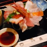 活漁レストラン藤 - いっぱい海鮮丼