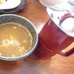 餃子酒家 照井 - 割スープ