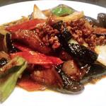 中国料理 亜華 - 料理写真:ナス味噌炒め