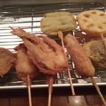串カツ酒場 ナニワ屋 - 肉、野菜系