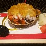 16877836 - 卵一杯の香箱蟹。ジュレ状の出汁