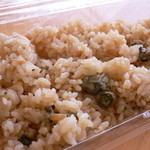 豊漁丸 - カキご飯