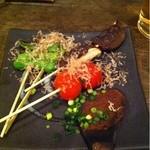 串焼き田舎味噌もやし - 野菜焼き