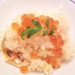 16883638 - 「茜」飯:鮭土鍋御飯