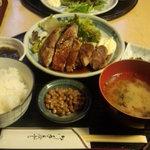 16885311 - 豚ロース生姜焼定食