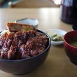 ソースかつ丼 我山 - 特製ソースカツ丼~☆
