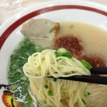 一味ラーメン - 細麺