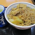 吉野家 - 牛鍋丼(並)汁だく 280円