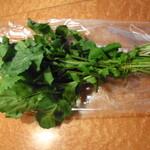 ブレドール - 鎌倉野菜がかえます ルッコラ200円