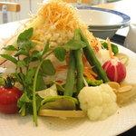 レストラン AQUA - 25品目のサラダ(大:1,000円 小:600円)