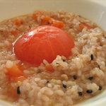 レストラン AQUA - 完熟トマトの十六穀米リゾット(800円)