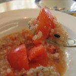 レストラン AQUA - 完熟トマト♪