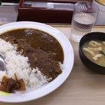 松屋 - スパイシーカレー350円
