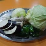 田舎村・いなか本館 - 焼き野菜
