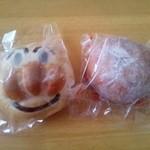 梅原製パン 直売所 ちいさなぱんやさん - アンパンマンとあんドーナツ