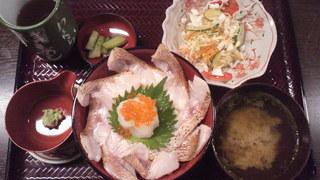 能登海鮮丼 みとね - 炙りのどぐろ丼