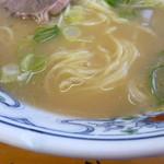 16897347 - 麺とスープ