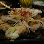 京都木村屋本店 - 鶏の鉄板焼き