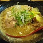 麺処 蓮海 - 味噌ラーメン@780円(2013.01)
