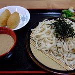 くぬぎむら体験交流館 - 冷汁ごまだれうどんセット:620円