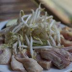 地鶏食堂 - 石焼定食(写真は2人前)