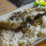 竹崎海産 - カキ飯