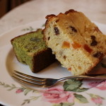 Lakshimi - フルーツケーキと抹茶