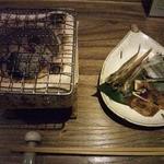 16903785 - 干し魚三種盛り(ししゃも、ほっけとば、さより)