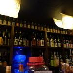 囲坊主 - 日本酒、焼酎が一杯!佐藤の黒、白、佐藤の麦もあります。