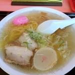 味の福龍 - 塩ラーメン 600円