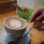 カフェ カプリ - カフェラテ(ねこちゃん)