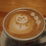 カフェ カプリ - カフェラテ(snowman love)