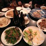 上海酒家 軼菁飯店 - 結構食い散らかされております。こんな画像でスミマセン。