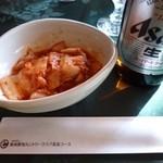 新南愛知カントリークラブ - 2013.01 キムチ、これも定番のワゴンのおつまみ