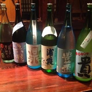 料理に合う日本酒、その季節にしか飲めない日本酒・・・