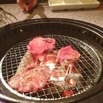炭火焼肉酒家 牛角 - 牛たん塩^ - ^