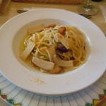 イタリアキッチン ヴォナセーラ - からすみのペペロンチーノ