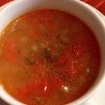 エコ ロロニョン - 3回目2013年1月20日 本日のスープ、ミネストローネ。