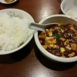 天富園 - 四川麻婆豆腐定食