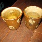 ハコニワ - お冷?お茶?すんません記憶なし。