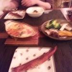 16920300 - 鯖のハラス燻製の炙り・牡蠣のグラタン・温野菜サラダ