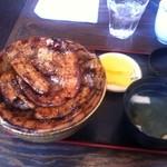 ぶたいち - 特上バラ豚丼 大盛