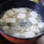 大松 - 味噌汁